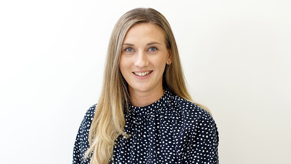 Rachel Lacklison, new Estates Surveyor