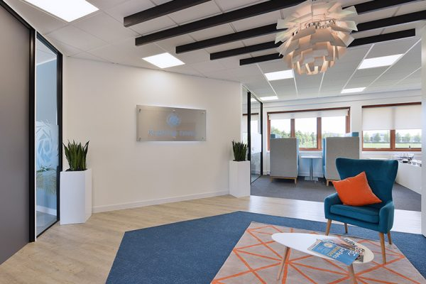 Kingsbridge Estates new offices at Tangmere, Chichester, West Sussex