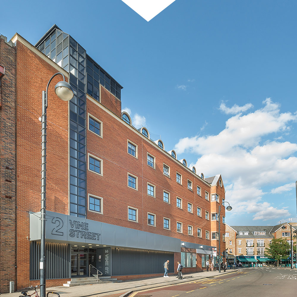 2 Vine Street, Uxbridge (Kingsbridge Estates commercial property)