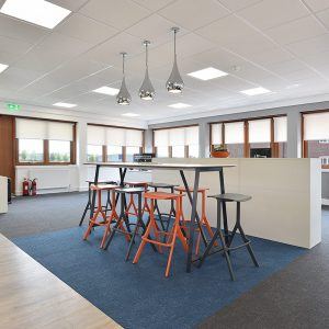 Chichester Fields Business Park, Tangmere, internal photo (Kingsbridge Estates commercial offices)