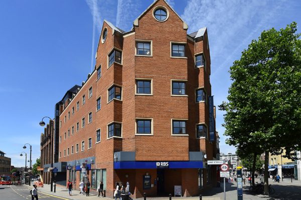 Kingsbridge Estates Ltd mixed use investment on Uxbridge High Street