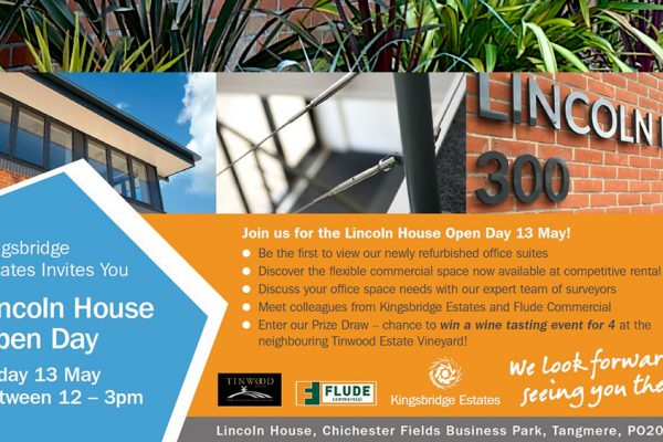 Lincoln House Open Day 2016 Invite