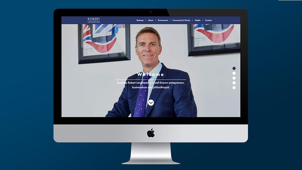 Robert Langmead new website