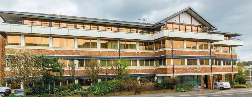 Summit House office frontage, Bracknell | Kingsbridge Estates