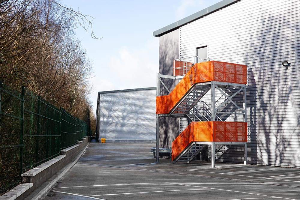 Concorde Park, Segensworth property stairs | Kingsbridge Estates
