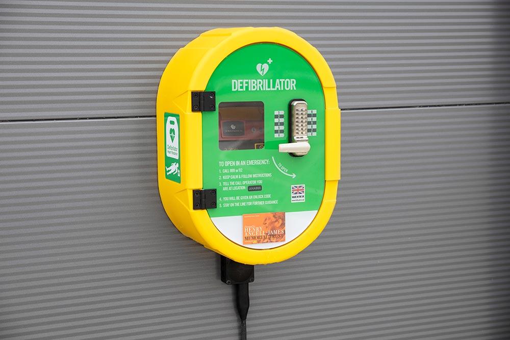 Concorde Park, Segensworth property defibrillator | Kingsbridge Estates