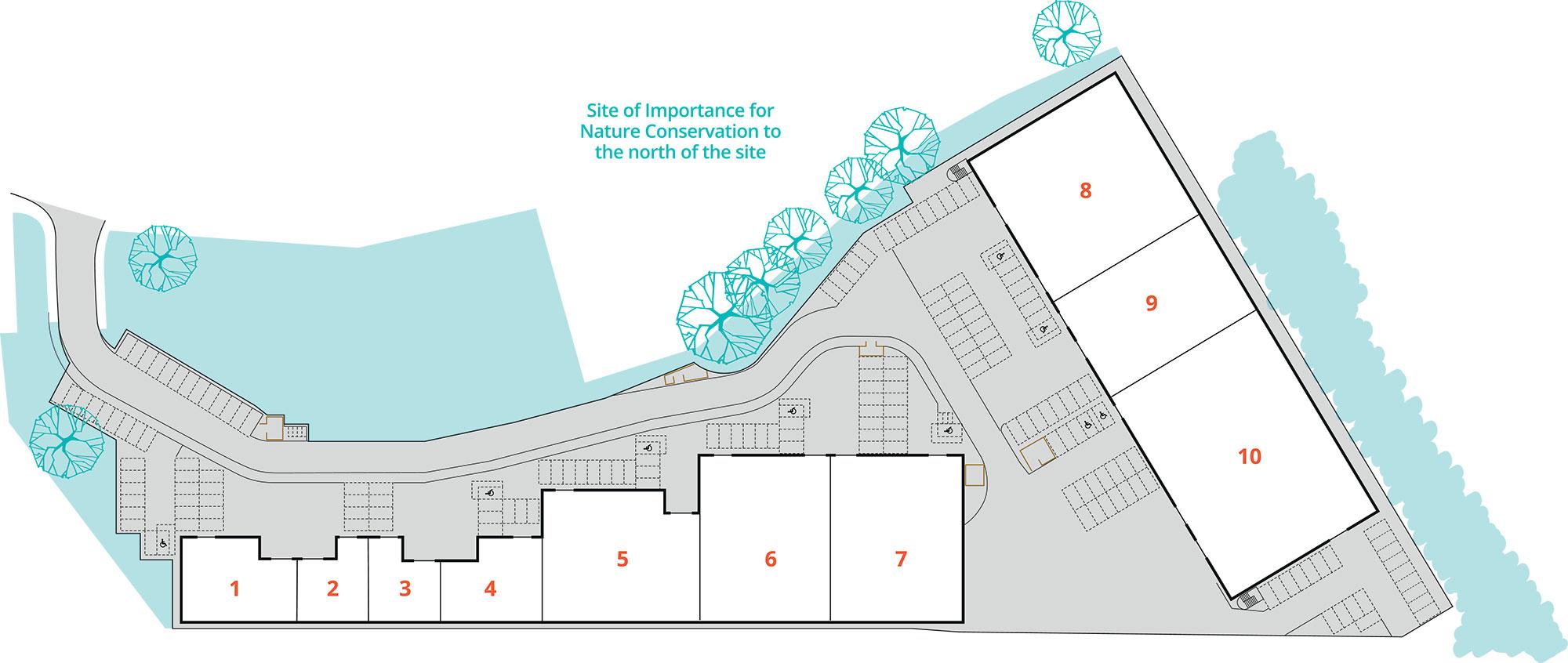 Concorde Park site plan