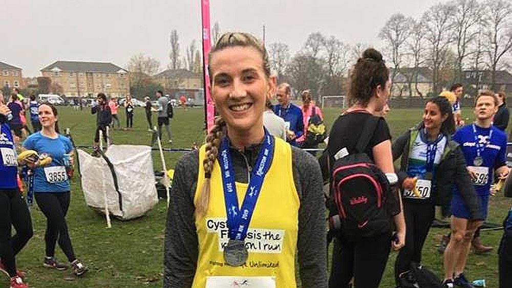 Rachel runs the Kingston 10K for Cystic Fibrosis | Kingsbridge Estates