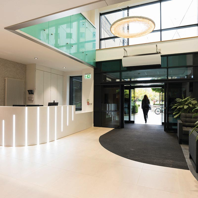 2 Charlotte Place, Southampton - reception area | Kingsbridge Estates