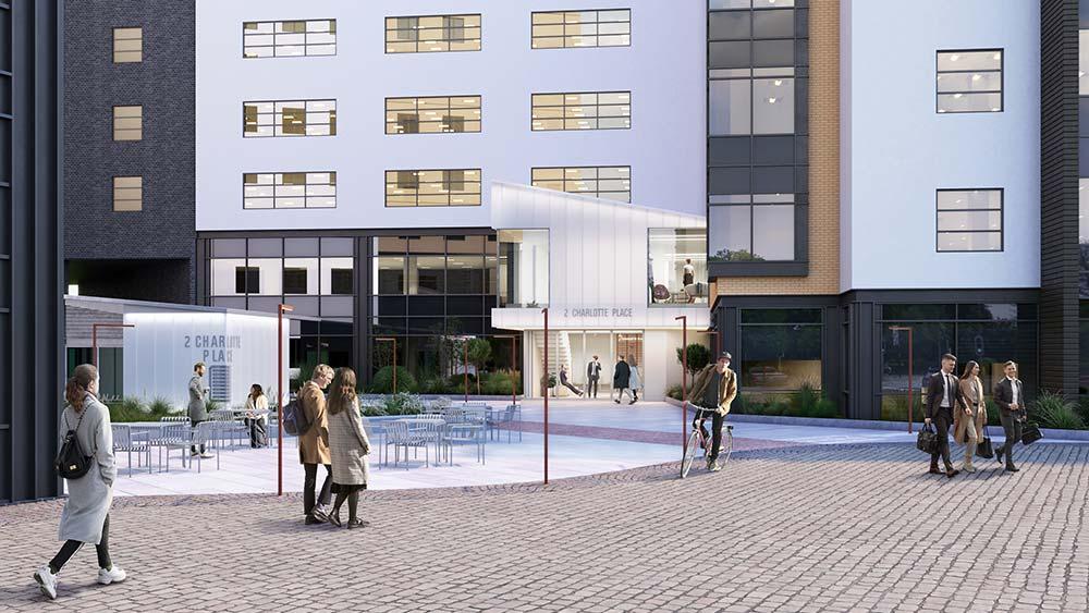 Office space at 2 Charlotte Place, Southampton   Kingsbridge Estates