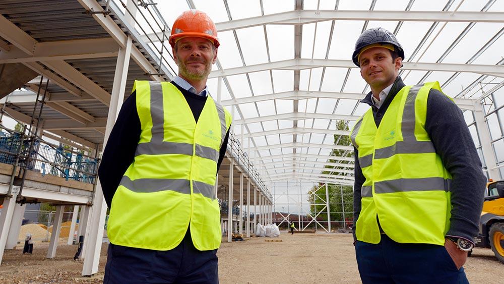 Jeremy Sharland and Greg Lukasiewicz   Kingsbridge Estates